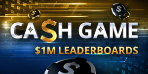 partypoker Cash Game Leaderboard